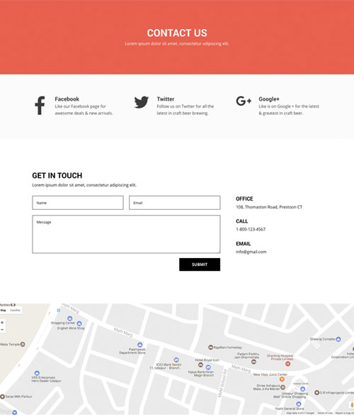 divi layout for brewery