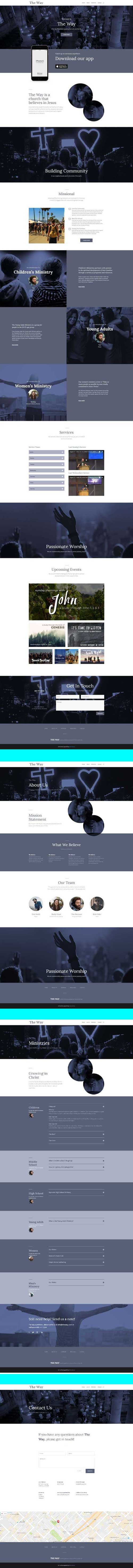 divi church layout download