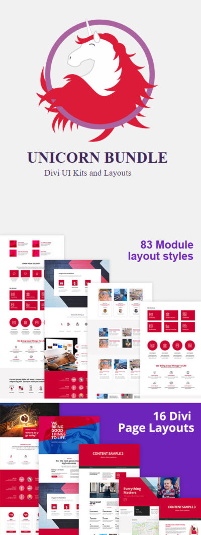 divi den layout bundle