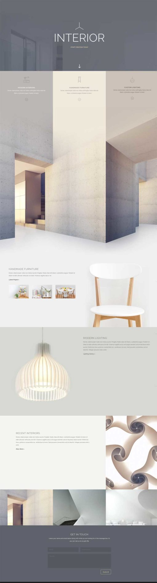 divi interior layout ET
