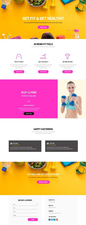 dm-divi-layout-fitness