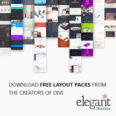 elegant theme divi layouts