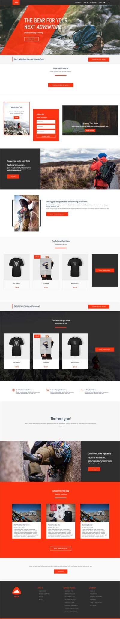 divi woocommerce layout