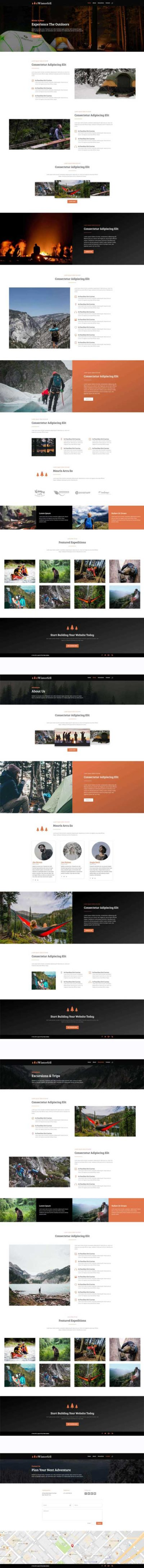 Winterfell Divi layout pack free download