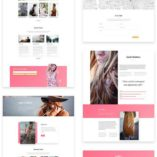 free divi layout for fashion business