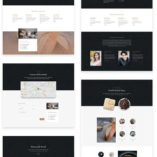free divi layout for bakery
