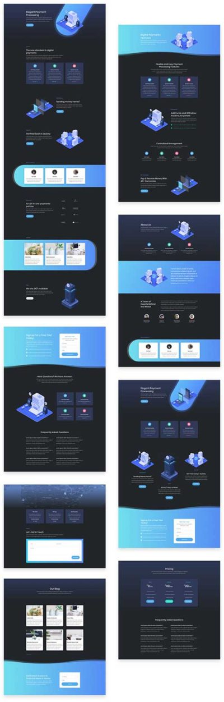 Divi digital layouts on divi theme layouts - Divi elegant theme ...