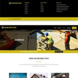 free divi layout for construction builder