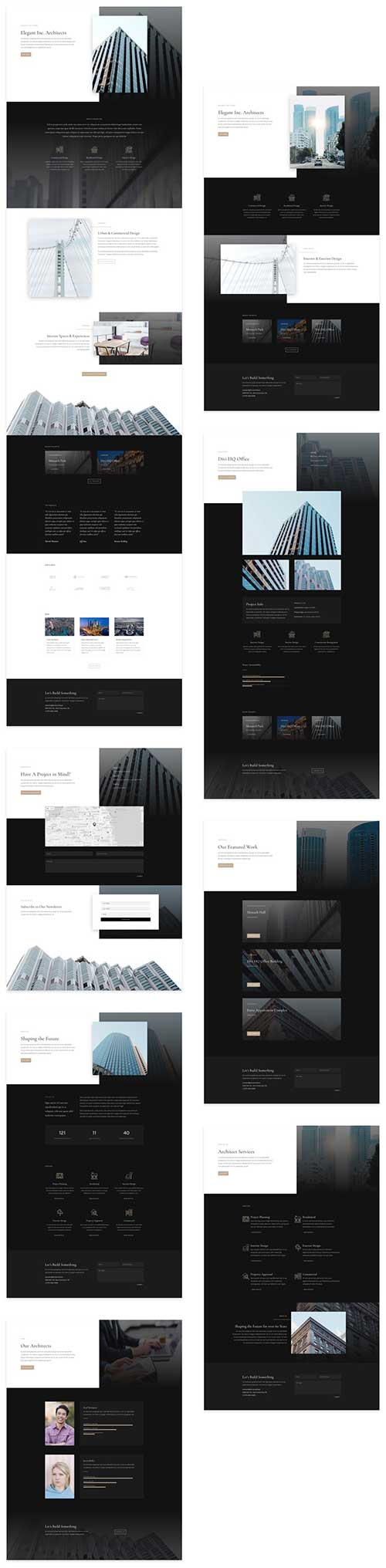 free layout for architect firm
