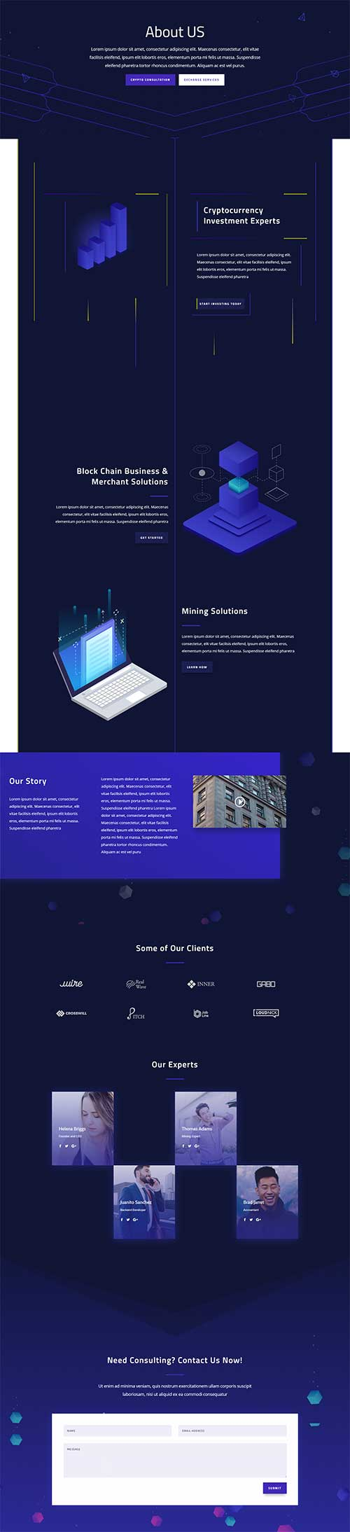 divi abstract lines layout download