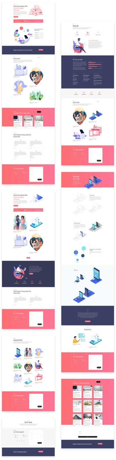 divi layout pack for graphic designer