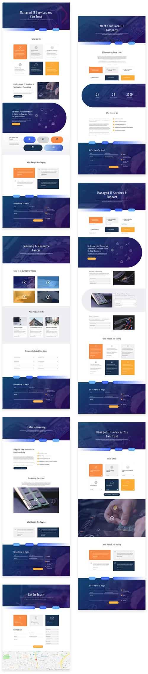 IT-services-Divi-layout-pack