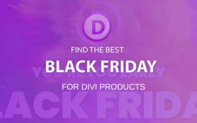Elegant Themes & Divi Black Friday 2020 (25% OFF)