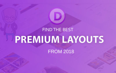 Best premium Divi layouts (2018)