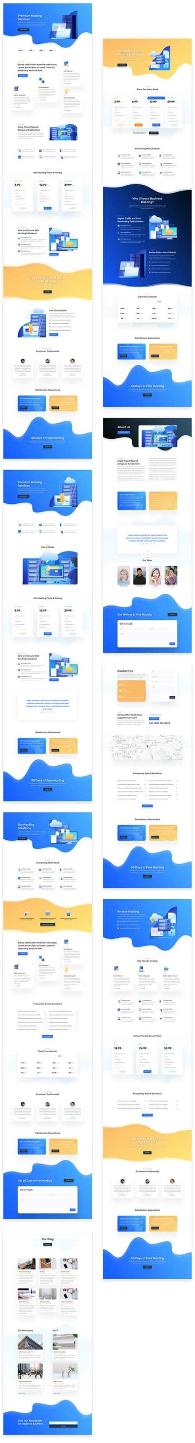 divi hosting pack