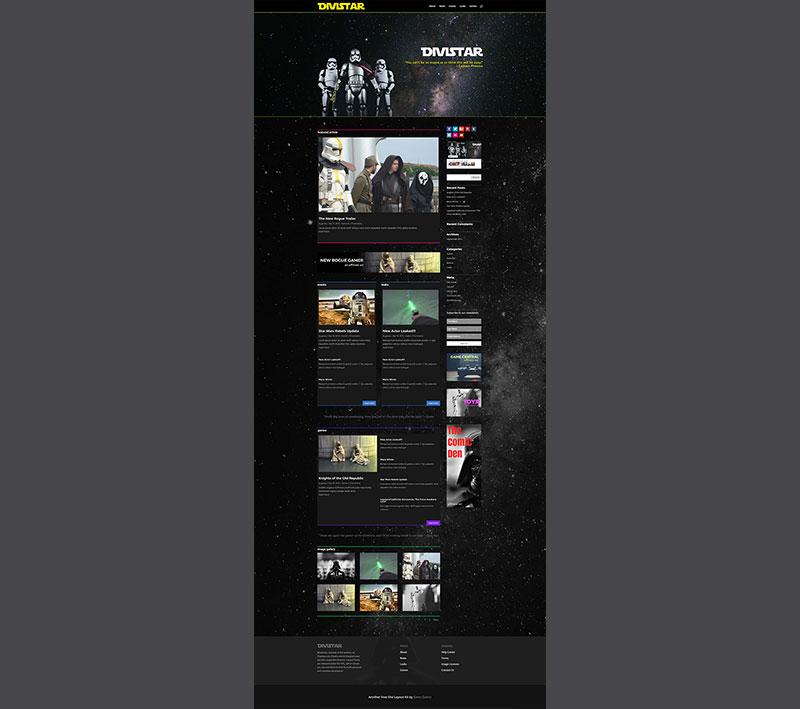 divi news blog layout