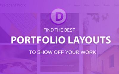 Best Divi portfolio layouts (2018)
