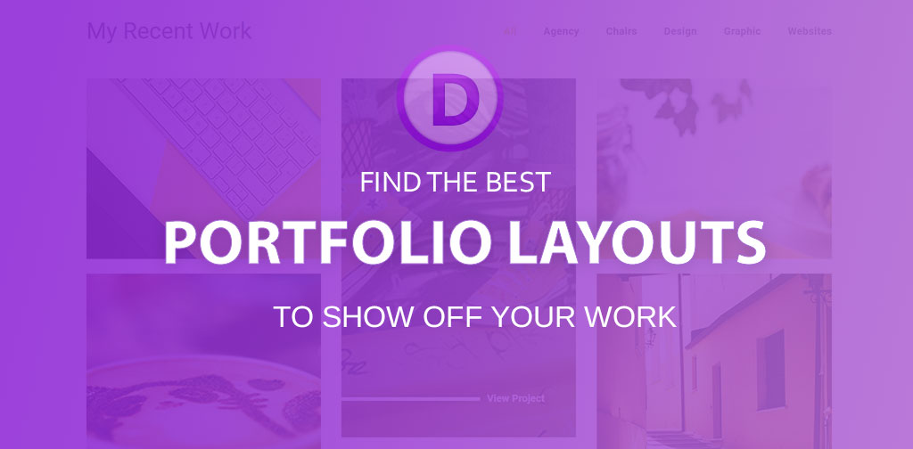 Best Divi portfolio layouts (2018)