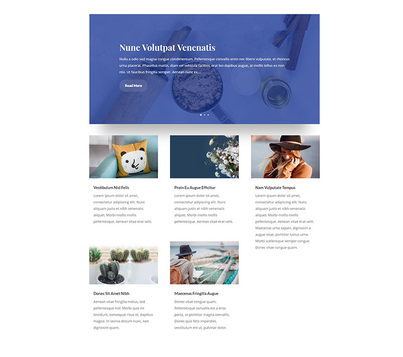 Divi Blog layouts (+ blog layout examples) • Divi Theme Layouts