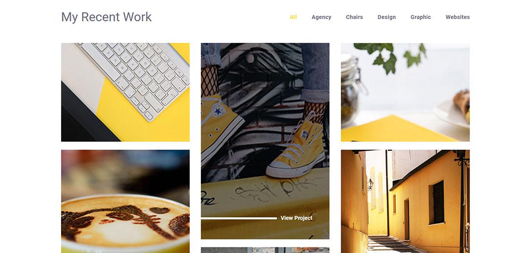 sigmund portfolio layouts