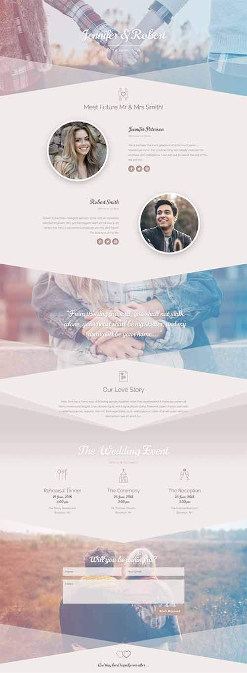 free wedding invite layout download divi theme layouts
