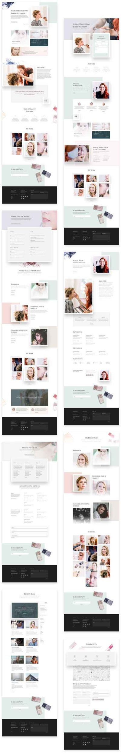 make-up beauty layout pack