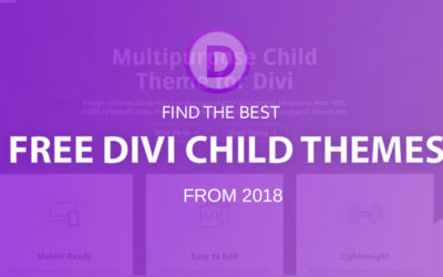 6 free Divi child themes (2018)