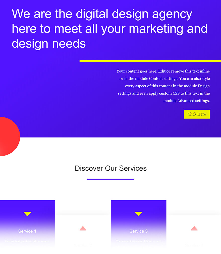 free divi layout - divi tutorial