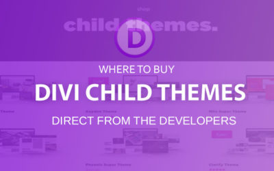 Where to buy Divi Child Themes