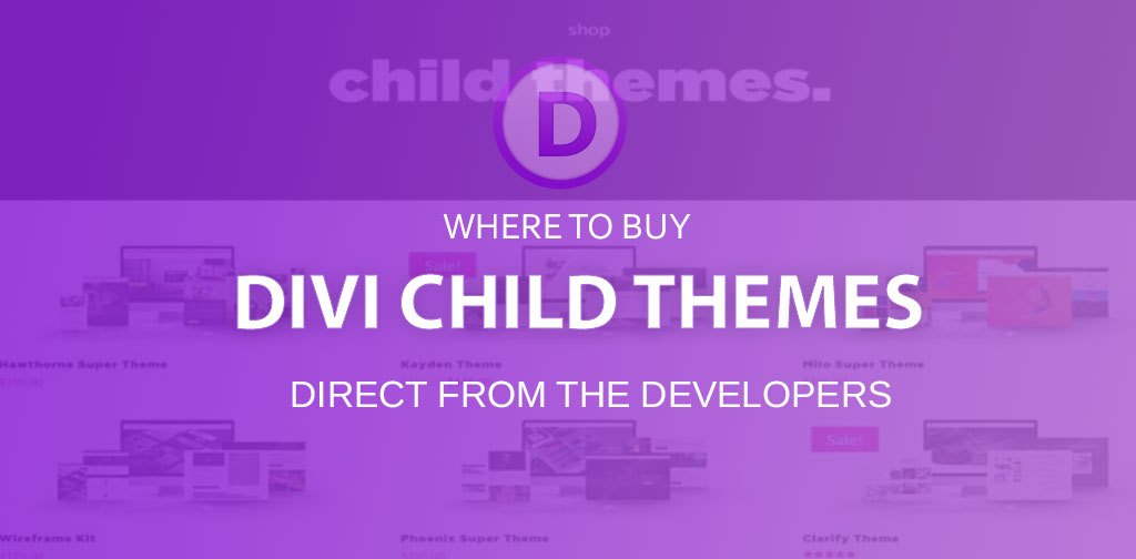 Buy Divi Child Themes (35 Divi Theme shops)