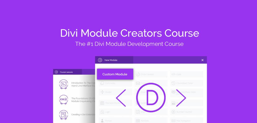 divi custom modules course