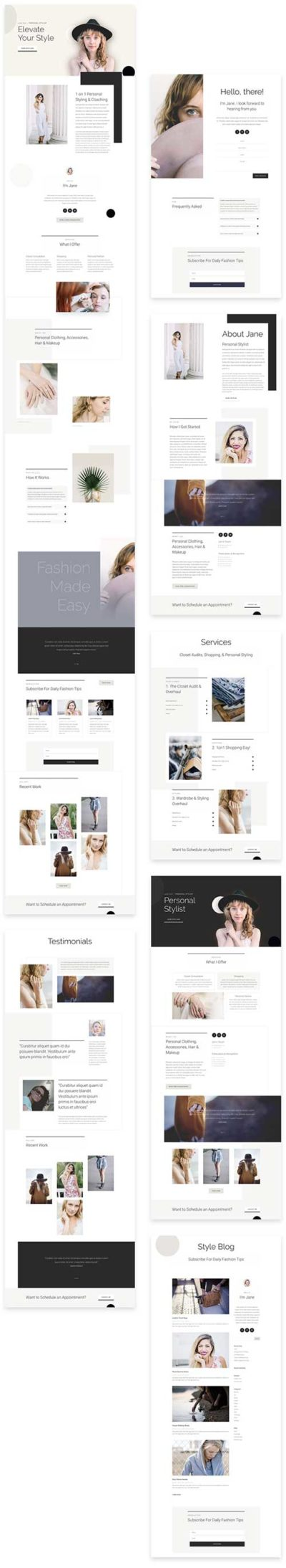 personal-stylist-template