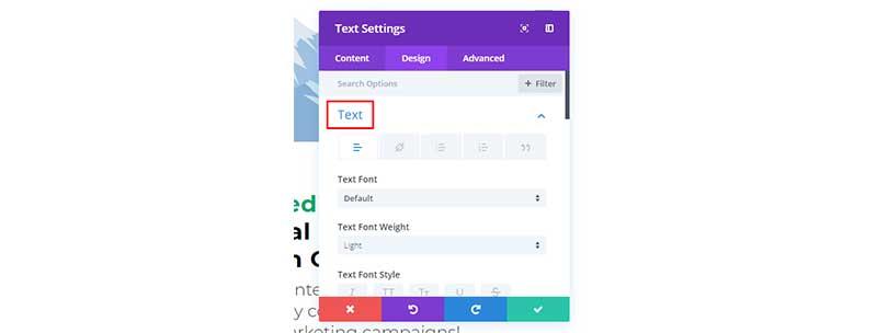 upload custom divi font