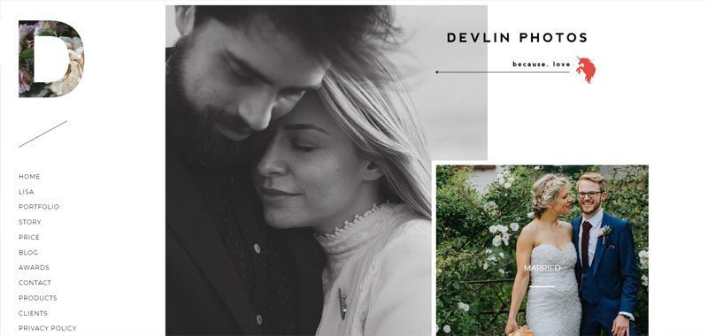 divi photography example