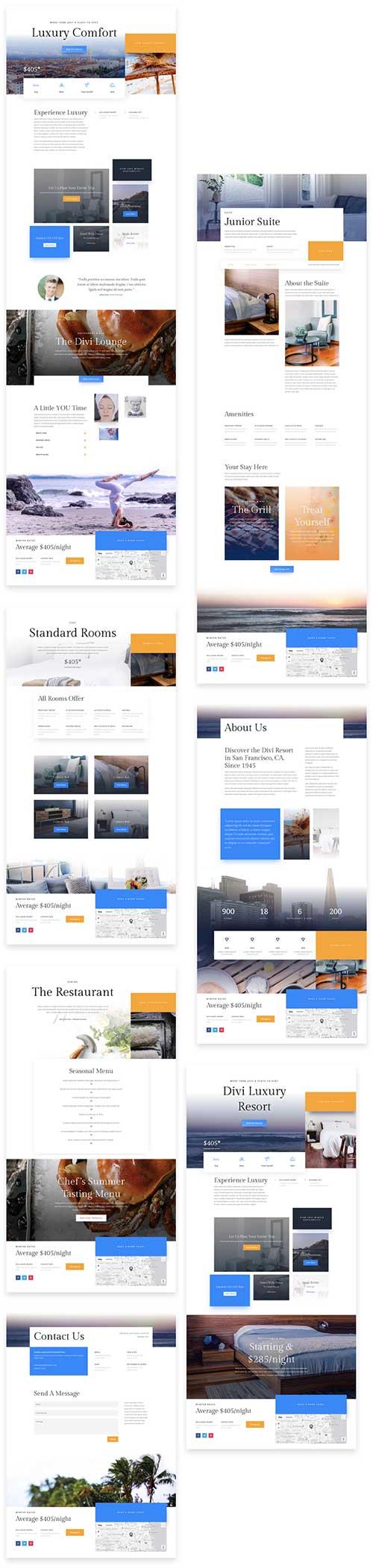 divi resort hotel website