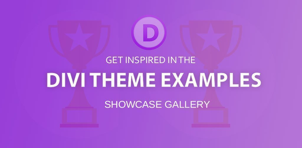 40+ examples of websites built with Divi