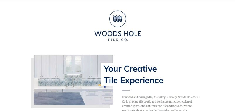 tiling website example divi theme