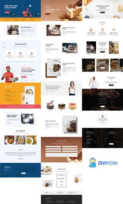 divi monk layouts april 2019