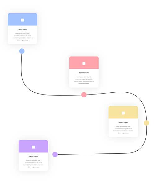 free divi timeline layout
