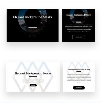 divi dynamic background mask