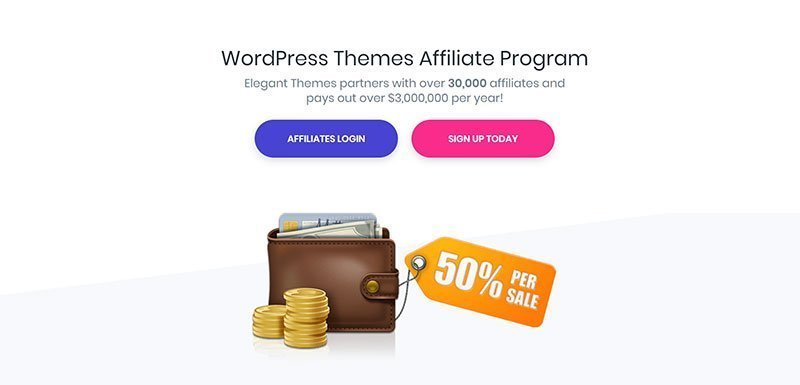 elegant themes affiliate program