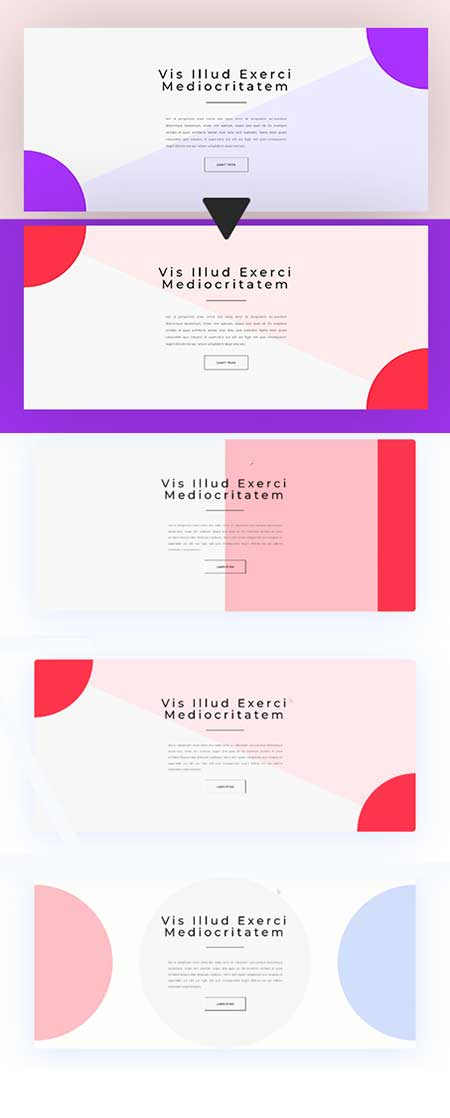 gradient background hover