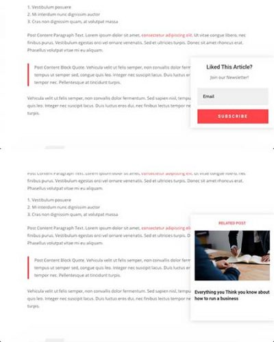 Divi pop-out on scroll