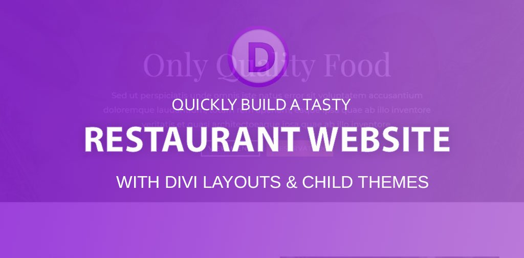8 tasty Divi restaurant layouts & child themes (2020)