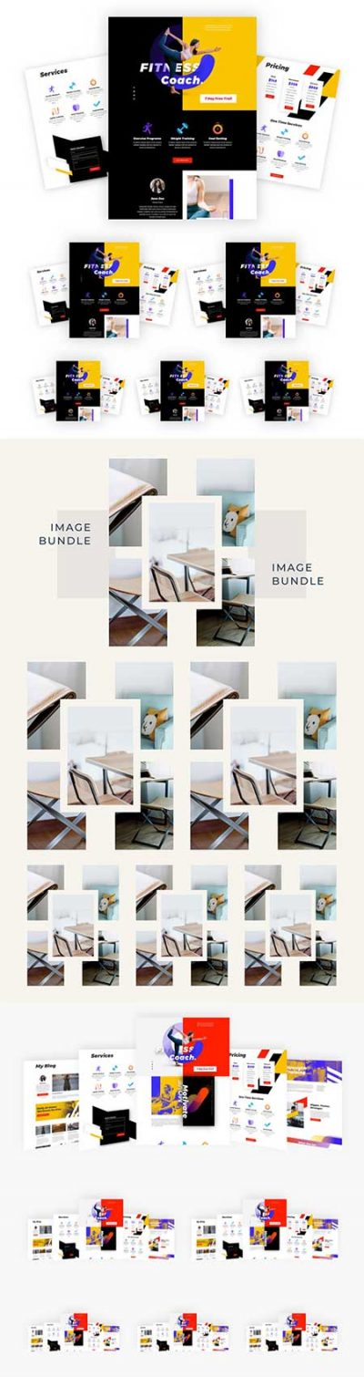 Divi image bundle layouts