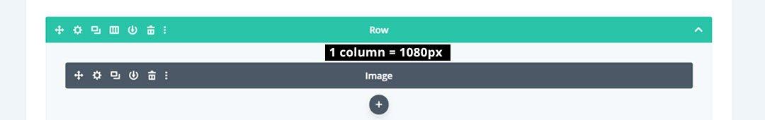 1 column image size 1080px