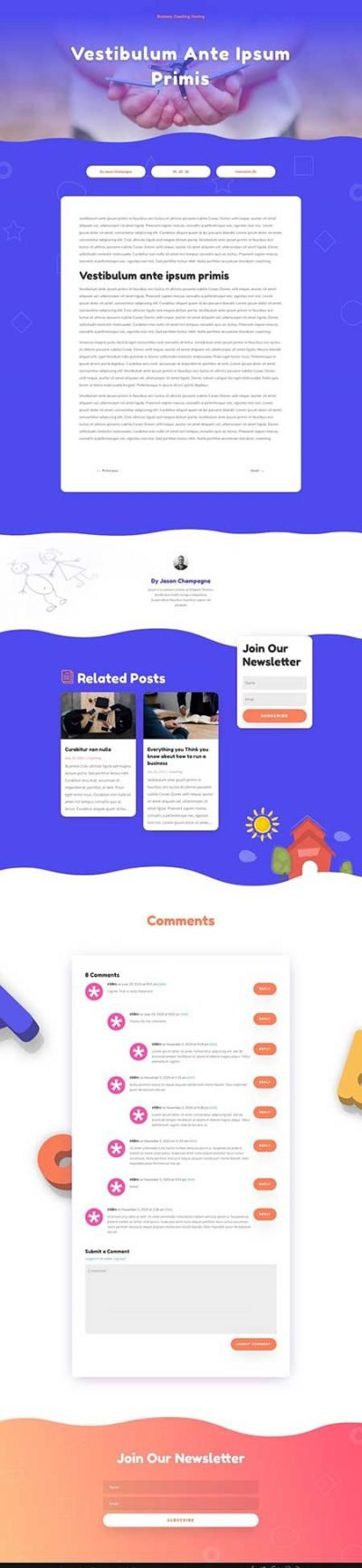 Divi daycare blog post