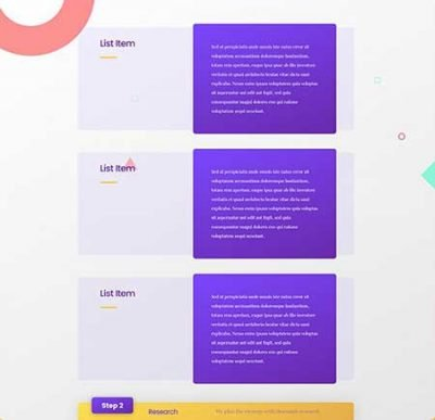 Divi sticky steps