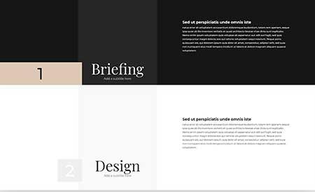Divi sticky styles layout
