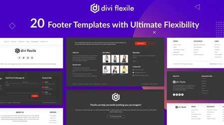 Divi Flexile Footers